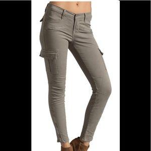 Flattering J brand Grayson cargo jeans.